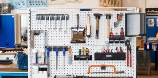 Praktyczny sposób na przechowywanie narzędzi warsztatowych